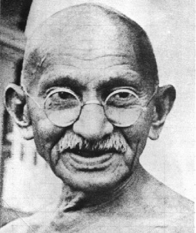 Mahatma Gandhi despre ce faci în viaţă