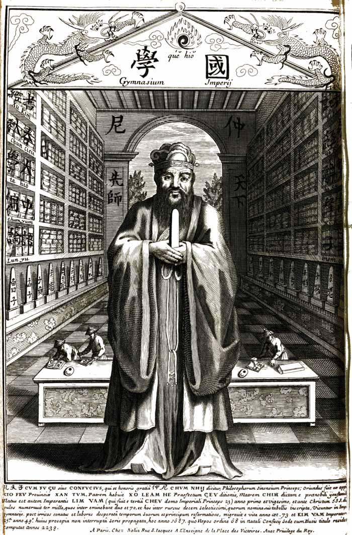 Confucius despre întrebare și prost