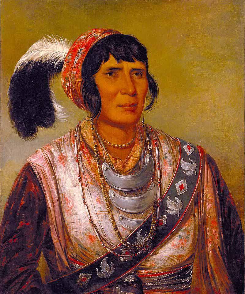 Osceola, șeful tribului seminola din Florida