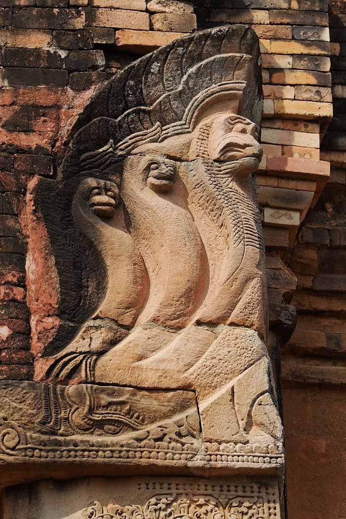 Nāga, șarpele păzitor care aduce prosperitate