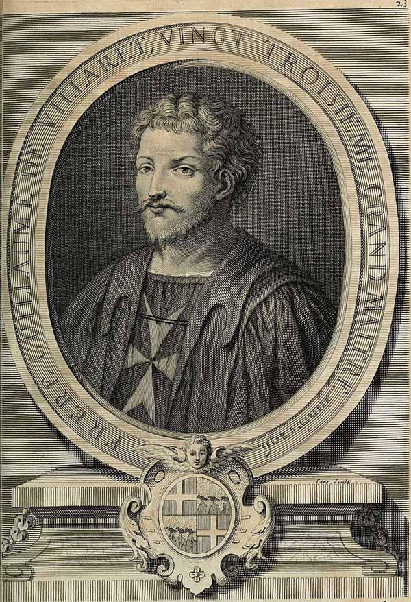 Guillaume de Villaret, Mare Maestru al ordinului Sfântului Ioan al Ierusalimului