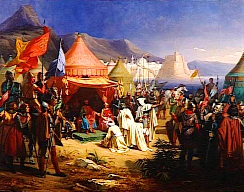 Înfrângerea cavalerilor cruciați în bătălia de la Harran