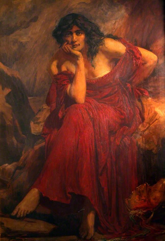 Ceridwen, regina vrăjitoarelor din mitologia anglo-saxonă