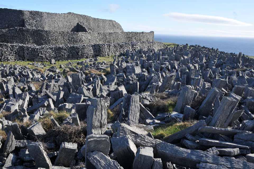 Dun Aengus, monumentul barbar cel mai magnific din Europa