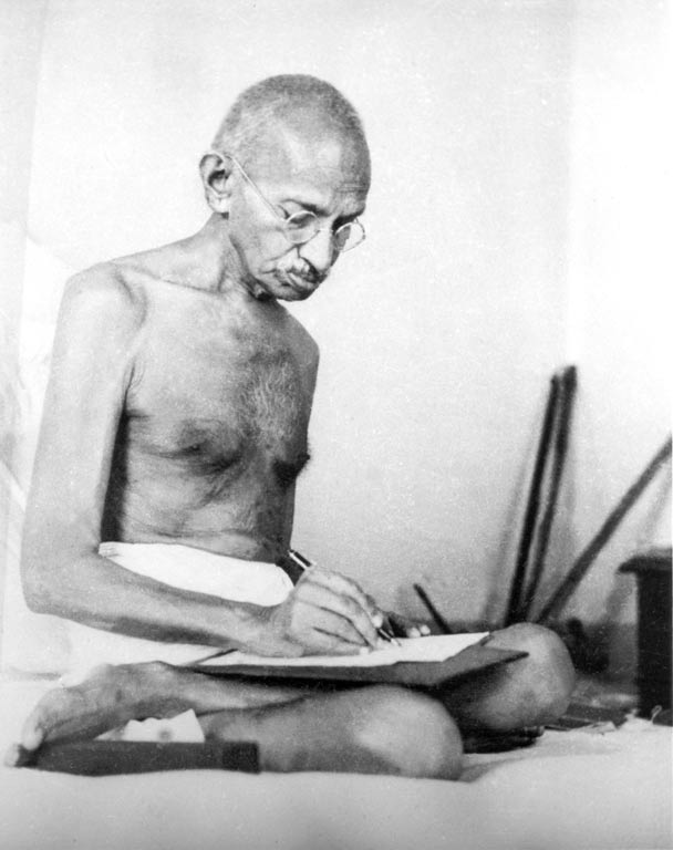 Mahatma Gandhi depre dragoste