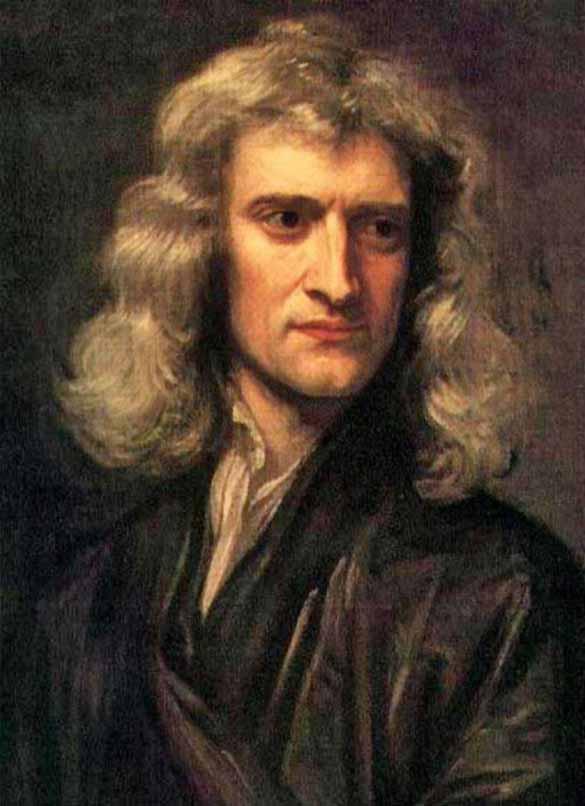 Isaac Newton despre singurătatea oamenilor