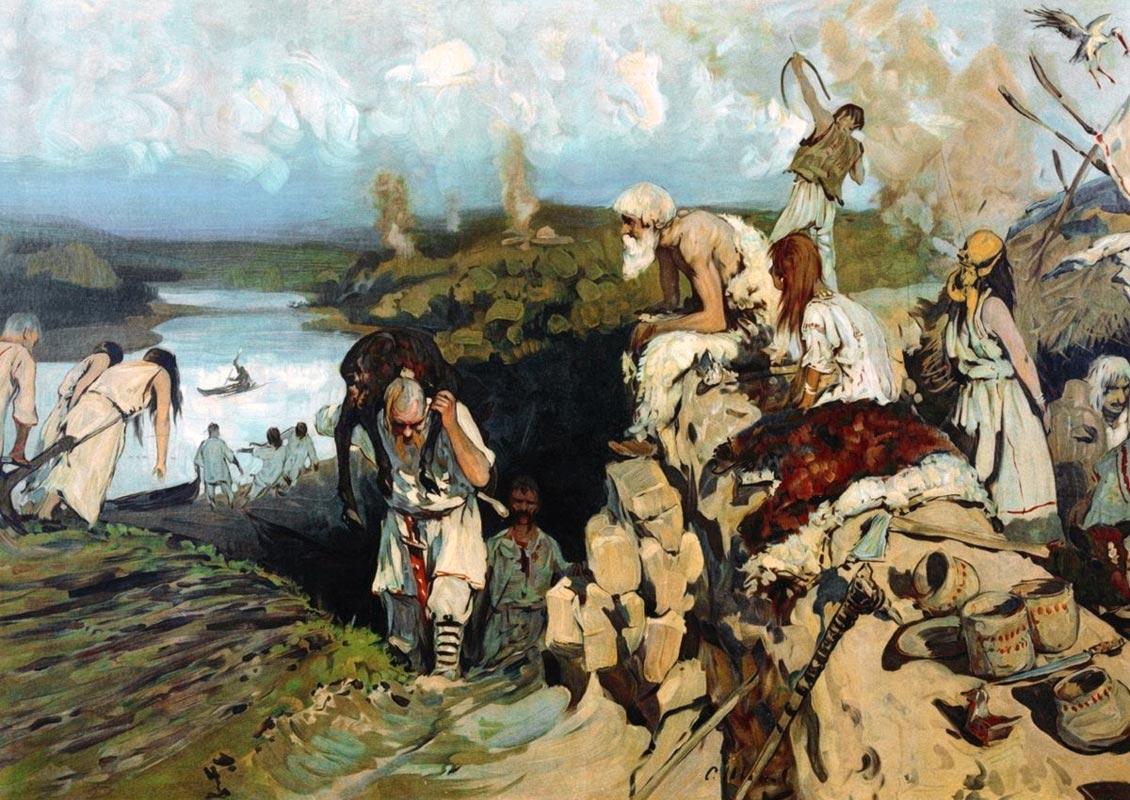 Scandinavii au fondat statul rus